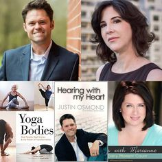 Tune in TONIGHT at 5pm PST/8pm EST for an inspiring show on Moments with Marianne with special guests Justin Osmond, son Merrill Osmond, the lead singer of The Osmond Family, as we discuss his book Hearing With My Heart, followed by a soul inspiring discussion with award-winning journalist and author Lauren Lipton as we talk about her new book Yoga Bodies!  Download the Moments with Marianne app on iTunes & Google Play!