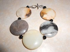 PRICE REDUCED!! Natural Stone Bracelet by TrendyCharm on Etsy