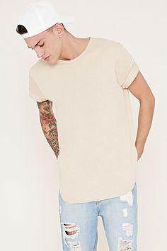 8dd7d053 EPTM. Longline Tee 21men, Mens Tee Shirts, Urban Outfits, Long A Line