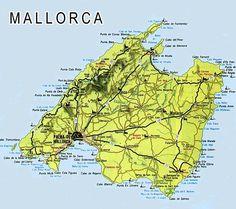 Mallorca Karte Playa De Muro.Mallorca Beaches Map Majorca In 2019 Palma Mallorca