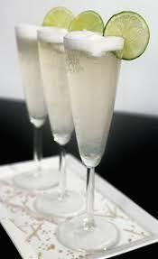 Champagne met suikerrandje