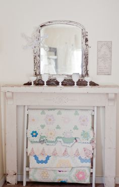 Vintage Whites Blog: Four Ways to Display a Quilt Collection