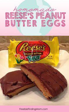 Copycat Recipe for Homemade Reese's Peanut Butter Eggs - Don't buy them this year, save money and make your own batch.