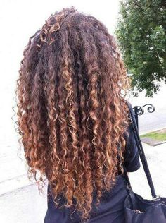 Her hair is so beautiful!