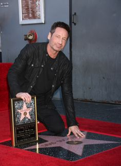 David Duchovny Earns His Star on the Hollywood Walk of Fame #XFiles