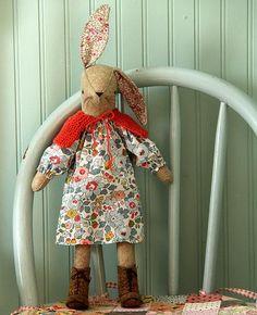 Miss Maggie Rabbit Softie Sewing Pattern