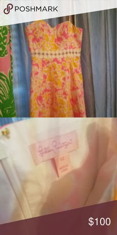 Lilly Pulitzer Dress NWOT never worn! Lilly Pulitzer Dresses Midi