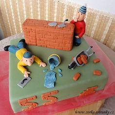 Dorty, řezy, dobroty - Fotoalbum - Moje dorty tematicky řazené - Profese, koníčky - Stavebnictví, kutilství