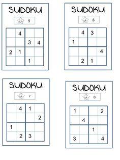 SUDOKU 3 niveaux