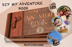 DIY MY ADVENTURE BOOK UP                                                                                                                                                     Más                                                                                                                                                                                 Más