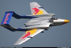 Red Bull de Havilland Sea Vixen