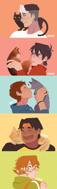 Voltron: Legendary Defender AS A CAT PERSON AND A VOLTRON OBSESSED NERD IM LOVIN THIS