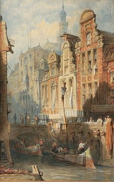 Samuel Prout Utrecht Town Hall 1841 - Samuel Prout - Wikipedia, the free encyclopedia