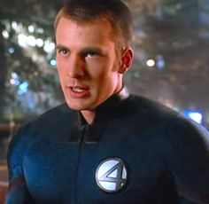 N°14 - Chris Evans as Johnny Storm / Human Torch - Fantastic Four by Tim Story (2005)