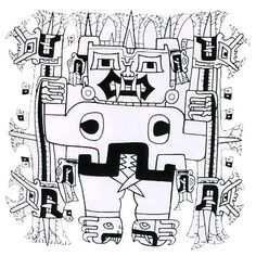 Resultado de imagen para dibujo chavin de huantar