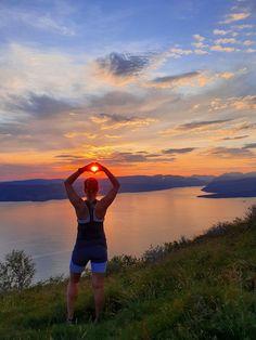 Attraksjoner og aktiviteter — Visit Rosendal Van Life, Norway, Celestial, Sunset, Outdoor, Outdoors, Sunsets, Outdoor Games, The Great Outdoors
