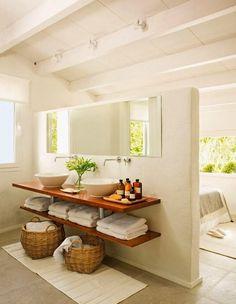 RECURSOS ÚTILES Baño abierto al dormitorio