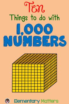 Printables Number Chart 1000 ten things to do with 1000 numbers charts classroom and number numbers