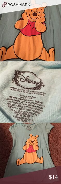 Disneys Winnie the Pooh Shirt 🌸 Welcome and thank you for checking out my closet 🌸  Please read below if you are interested in the item:  All items are 💯% Authentic!   Always open to reasonable offers and possible trades.   🛍 Up for sale: excellent condition. Size large Disney Tops Tees - Short Sleeve