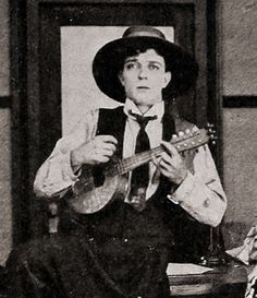 Buster Keaton Joseph Frank, Little Busters, Enjoy The Silence, Dead Man, Silent Film, Daydream, Comedians, Singing, Movies