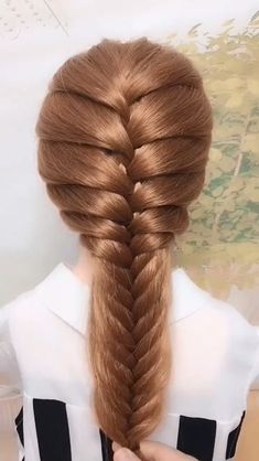 New Pic cool braided hairstyles Style Prepare yourself because there's the latest tide involving 2020 coiffure tips forthcoming your own way. Easy Hairstyles For Long Hair, Braids For Long Hair, Diy Hairstyles, Weekend Hairstyles, Hairstyles Videos, Braids For Girls, Braided Hairstyles For Long Hair, Curly Hair, Long Hair Dos