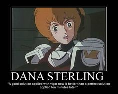 Robotech : Dana Sterling