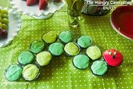 The Very Hungry Caterpillar cake! Such a cute party idea! Click for more ideas.