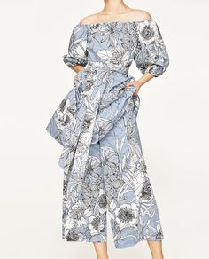 Image 3 of PRINTED CULOTTES from Zara