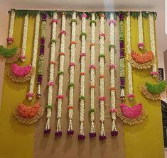 Baby nursery diy life ideas for 2019 Marriage Decoration, Wedding Stage Decorations, Diwali Decorations, Backdrop Decorations, Flower Decorations, Dance Decorations, Background Decoration, Diy Backdrop, House Decorations