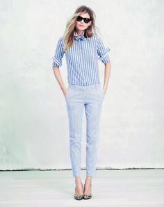 stripe on stripe, nautical, boat outfit, summer, spring outfit