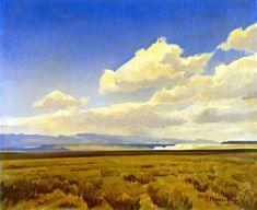 The Athenaeum - Wind of Wyoming (Maynard Dixon - )