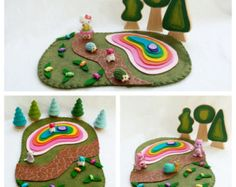 Candy Lane Gingerbread house Cottage Playscape by MyBigWorld2015