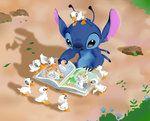 Lilo and Stitch - I'm lost by on DeviantArt Lilo And Stitch 2002, Lilo Y Stitch, Stitch Cartoon, Cute Stitch, Disney Stitch, Cute Disney Wallpaper, Cartoon Wallpaper, Coral Drawing, Cute Disney Characters