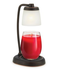Look at this Candle Warmers Bronze Contempo Lamp Candle Warmer on #zulily today!