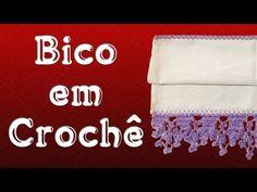 Bico em Crochê - Marilda Artes - YouTube