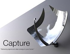 """Check out new work on my @Behance portfolio: """"Capture - The satellite dish of the future."""" http://be.net/gallery/37456511/Capture-The-satellite-dish-of-the-future"""