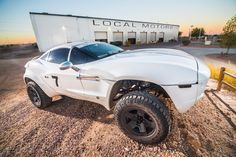 The Rally Fighter; A fully capable off-road prerunner, with the amenities and luxuries of an every-day on road vehicle.  A rugged tube chassis construct...