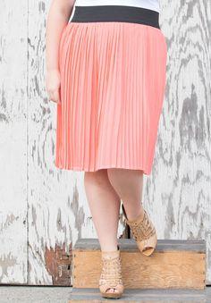 Plus Size Bottoms   Lulu Chiffon Skirt   Swakdesigns.com
