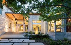 Stratford Residence - contemporary - Exterior - Austin - Cornerstone Architects