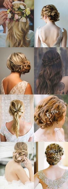 25 Must-See Wedding Hairstyles from Pinterest