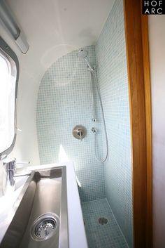 Camper modern toilet
