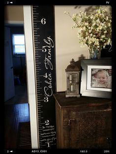 Growth Chart Wooden height chart kids height by PaolaBrownShop, $70.00