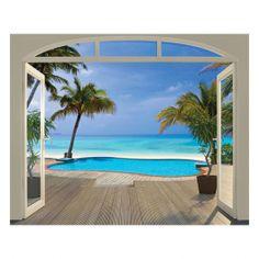 Walltastic Paradise Beach XXL