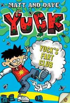 """Laugh your socks off with Yuck, the boy who loves bugs, slugs, and slime!    In """"Yuck's Fart Club,"""" Yuck has a brilliant idea for a club and he's inviting all his friends! Who would have thought they could make so many types of farts? But his sister, Polly, is determined to find out what Yuck is up to—and she's in for an explosive surprise!...more on boikeno.com"""