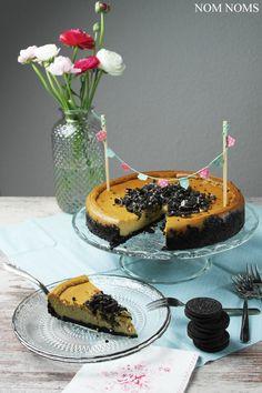 Veganer Cheesecake mit Oreo-Boden von Nom Noms Treats of Life - Law of Baking
