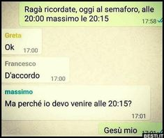 Ah Massimo Massimo Massimo.Perché non capisci? Really Funny, Funny Cute, Funny Images, Funny Photos, Italian Memes, Text Jokes, Savage Quotes, Funny Text Messages, Funny Video Memes
