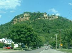 Granddad's Bluff in La Crosse, Wisconsin