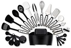 GR Kitchen 22 Stainless Steel Kitchen Tools and Gadgets Set * To view further for this item, visit the image link.