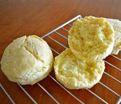 Grain free almond flour butter biscuit recipe! Video tutorial.