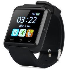 Original U8S Sport Im Freien Smart Bluetooth 3,0 Uhr Mit Remote Camera Pedometer Sitzende Erinnerung Smartwatch Für Android //Price: $US $16.14 & FREE Shipping //     #clknetwork